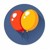celebration balloons icon