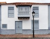 Architectural detail in San Sebastian de la Gomera, Canary Islands, Spain