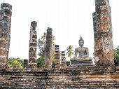 Old Buddha Statue Sukhothai