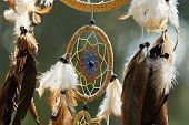 picture of dream-catcher  - Very nice dream catcher in the sunshine - JPG