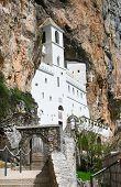 Monastery Ostrog In The Heart Of Montenegro