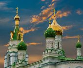 Golden Dome Of The Church