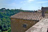 Tuscany city roof