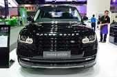 Nonthaburi - December 1: Range Rover Autobiography Car Display At Thailand International Motor Expo
