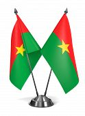 Burkina Faso - Miniature Flags.