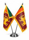 Sri Lanka - Miniature Flags.