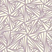 Abstract Seamless Geometric Light Vector Pattern