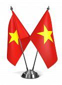 Vietnam - Miniature Flags.