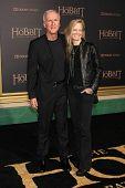 LOS ANGELES - DEC 9:  James Cameron, Suzy Amis at the