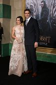 LOS ANGELES - DEC 9:  Evangeline Lilly, Lee Pace at the