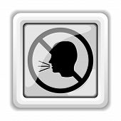 No Talking Icon
