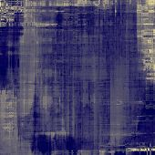 Grunge stained texture, distressed background with space for text or image. With different color patterns: gray; blue; violet