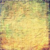Grunge colorful background. With different color patterns: brown; yellow; green