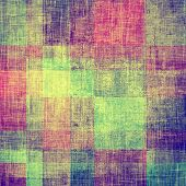 Abstract grunge background or old texture. With different color patterns: blue; green; purple (violet); yellow