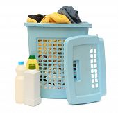 Washing Basket With Detergent