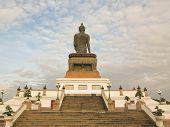 the big black buddha with