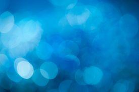 stock photo of posh  - Blue festive New Year - JPG