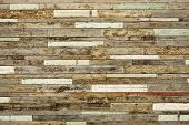 foto of formica  - old and dirty wood plank wall for background - JPG