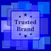 image of trust  - Trusted brand icon - JPG