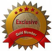 foto of exclusive  - This golden seal declaring  - JPG