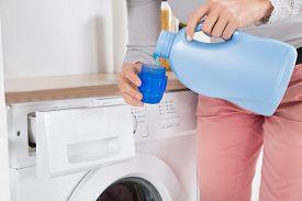 stock photo of detergent  - Close - JPG