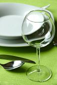 image of catering service  - Fancy table setting - JPG