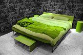 Natural green modern Bedroom