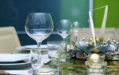 Shiny table setting