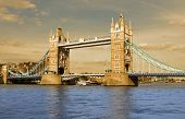 Tower bridge London - historical monument