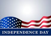Independence Day Usa Background Flag poster