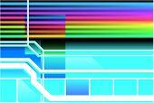 Retro Neon 80S Background
