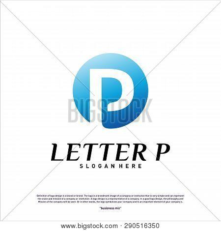 Letter P Logo Design Concept