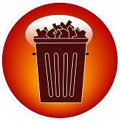 Button Garbage