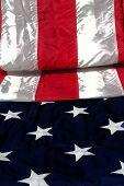 Falten Sie das flag