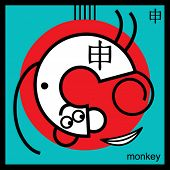 monkey, sign of the oriental calendar