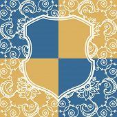 decorative vector escutcheon