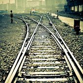 Confusing railway tracks