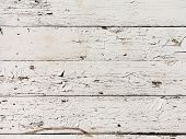 Seamless Texture Background, Boards Natural Old Painted White. White Wood Pattern And Texture For Ba poster