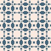 Vector Geometric Seamless Pattern. Simple Texture With Small Squares, Dots, Grid, Lattice. Abstract  poster