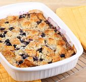Baked Blueberry Cobbler
