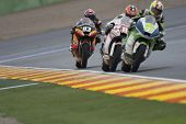 CHESTE - NOVEMBER 11: #93 Marc Marquez during Moto2 race in GP of the Comunitat Valenciana, on Novem