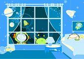 Постер, плакат: Мало спать астронавт растровые версия