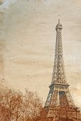 old-fashioned The Eiffel Tower (nickname La dame de fer, the iron lady),The tower has become the mos