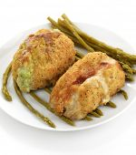 Chicken Breasts Stuffed With Broccoli And Cheese And Bacon And Cheese