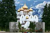 Orthodoxie-Tempel in der Stadt Jaroslawl