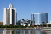stock photo of ekaterinburg  - skyscraper of Russia  Ekaterinburg city - JPG