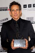 LOS ANGELES - NOV 15:  Ben Stiller in the press room of the 26th American Cinematheque Award Honorin