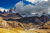 El Chalten is a small town near the mount Fitz Roy; the trekking capital of Argentina