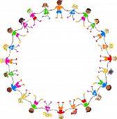 Crianças coloridas