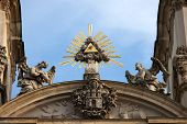 St Anne's Church In Budapest Architectural Details